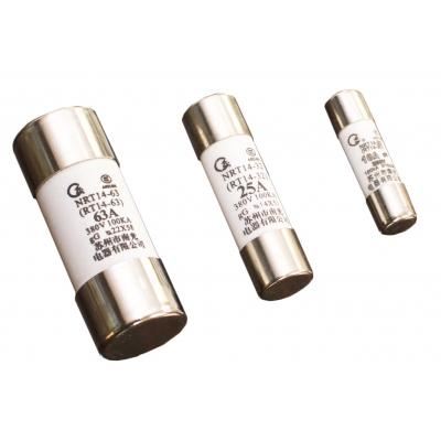 NRT14系列有填料封闭管式圆筒形帽熔断器